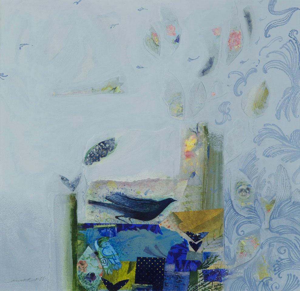 Ann Ross  Blue, Bird