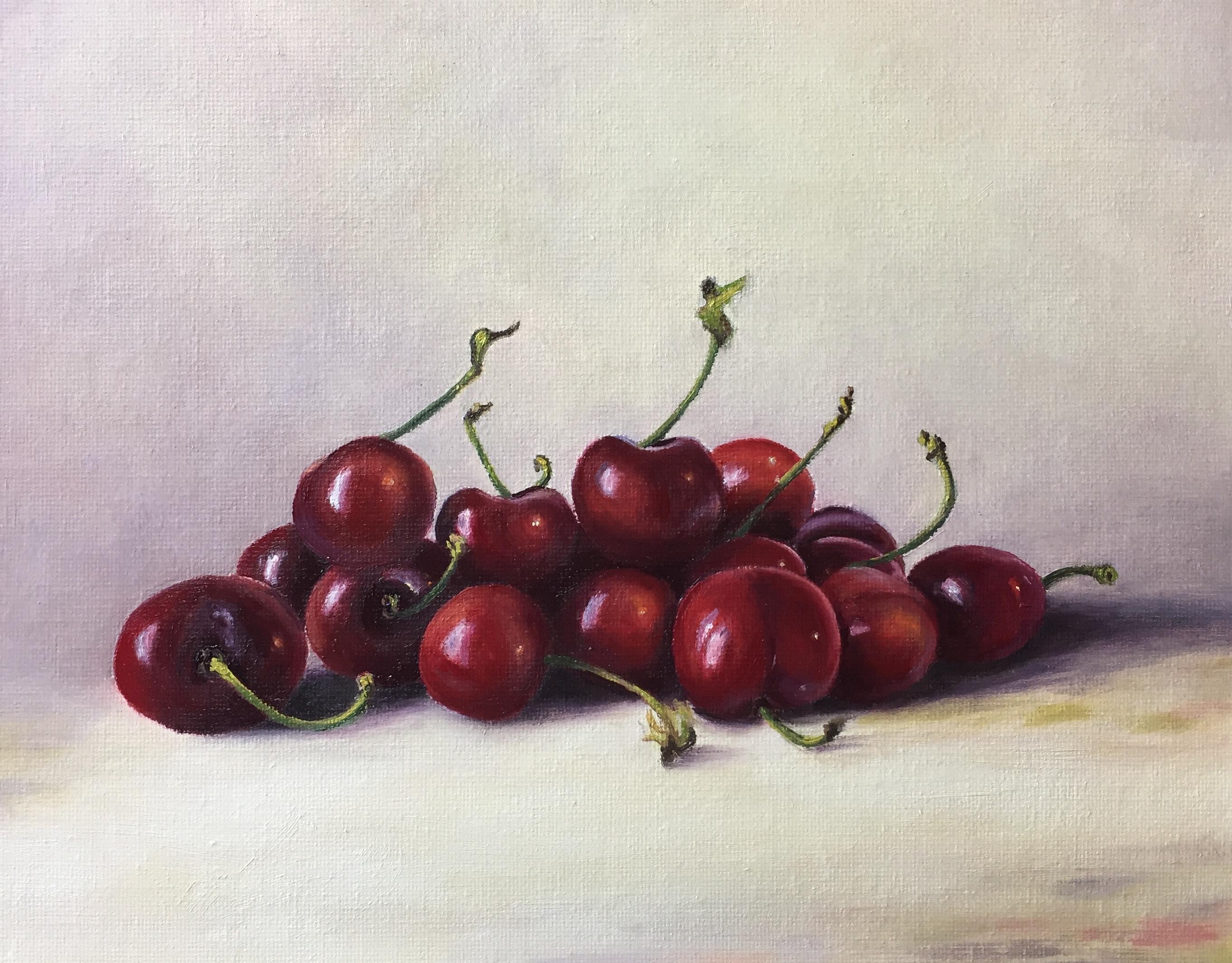Henrietta Lawson Johnston Cherry Red