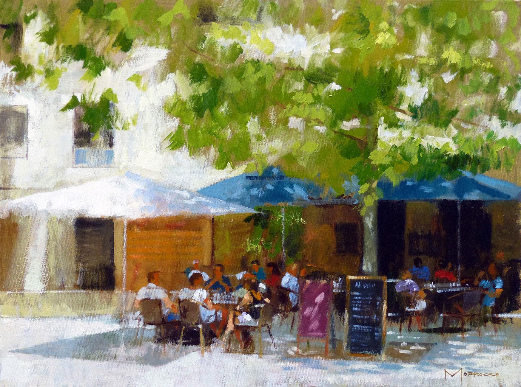 Jack  Morrocco Dejeuner, Courmarin, Provence