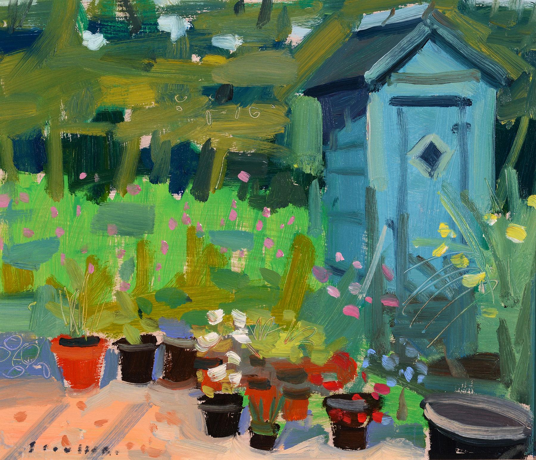 Glen Scoulier Garden Shed in Summer