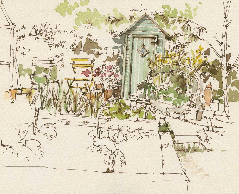 Carol Scouller Garden Hut