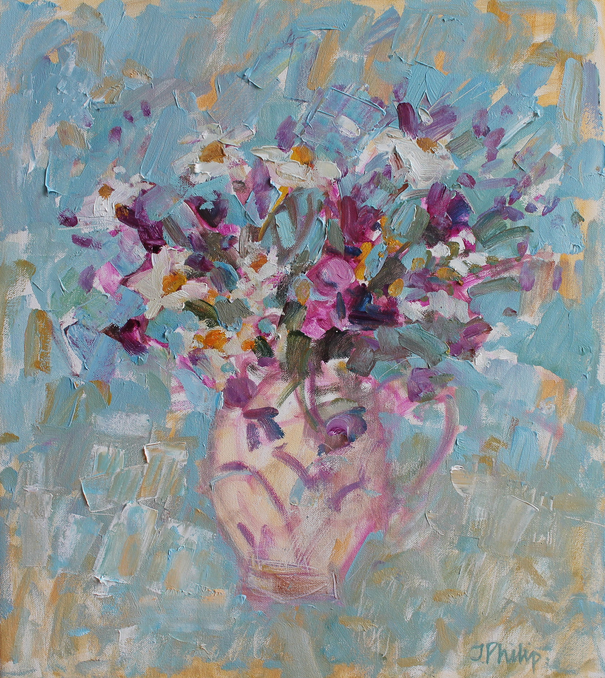 Jackie Philip Hedgerow Flowers, East Neuk