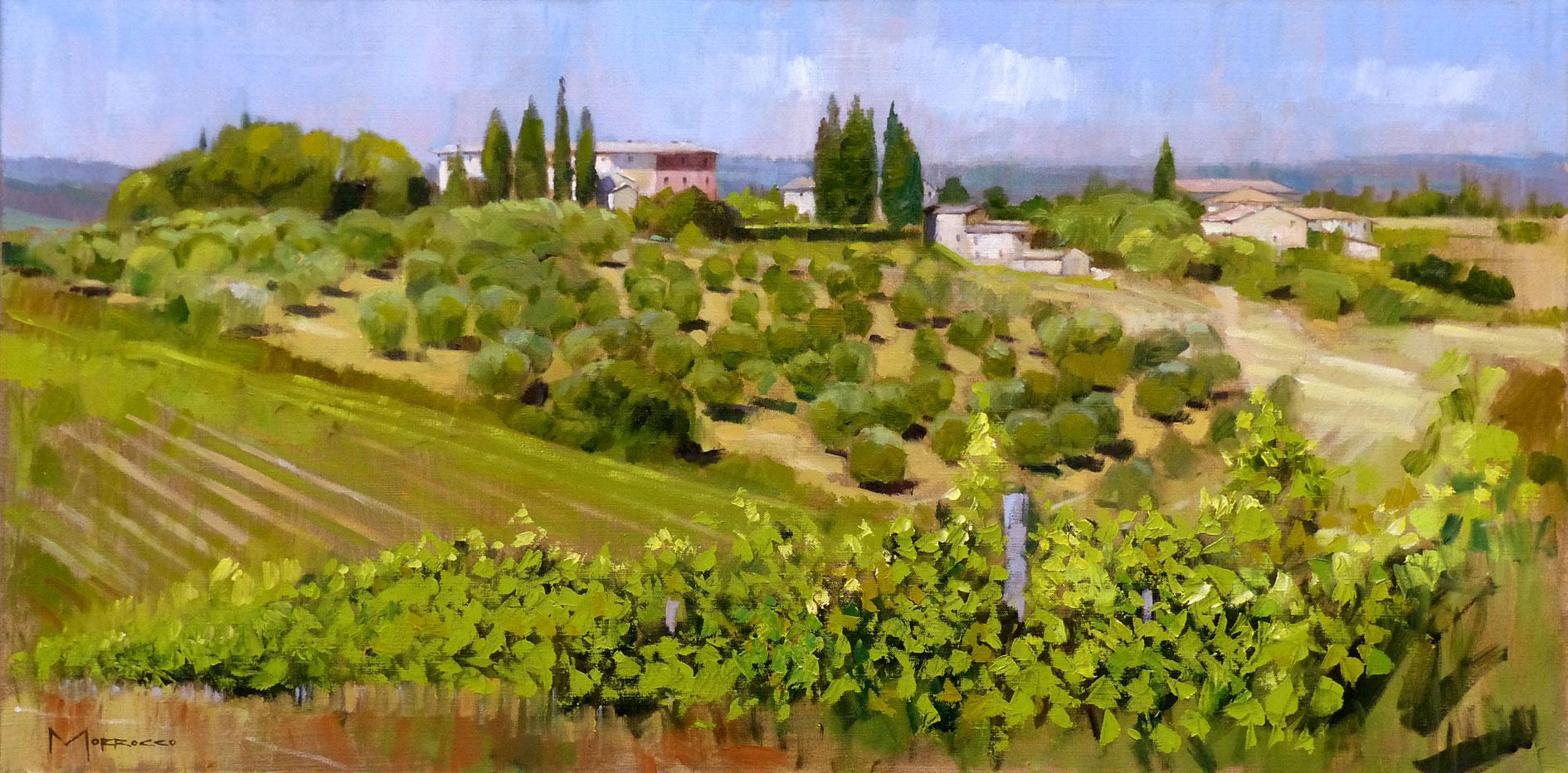 Jack  Morrocco Hilltop Villa near Greve in Chianti