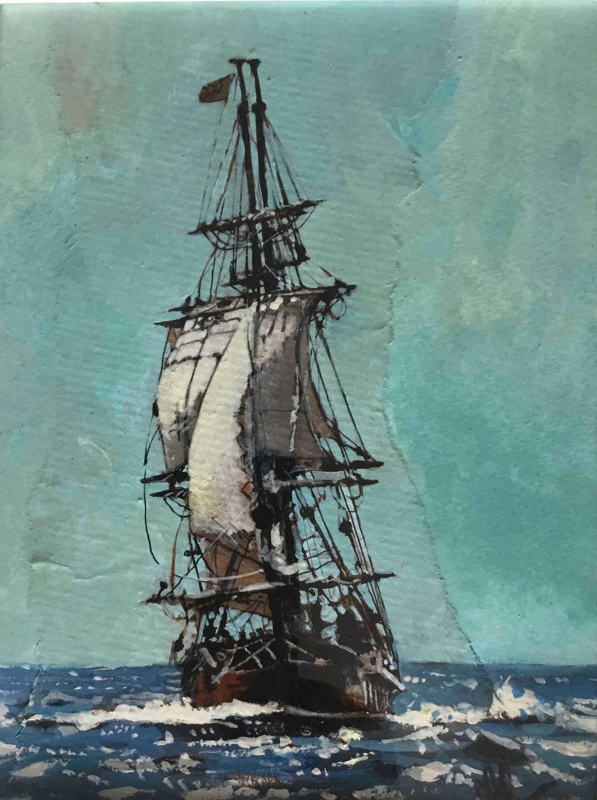 Malcolm Cheape Ship at Sea