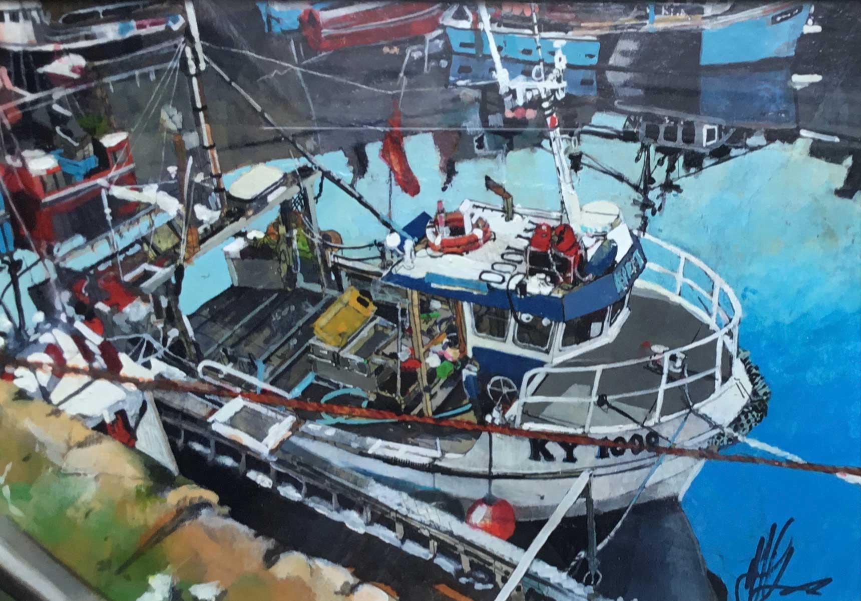 Malcolm Cheape Pittenweem Fishing Boats