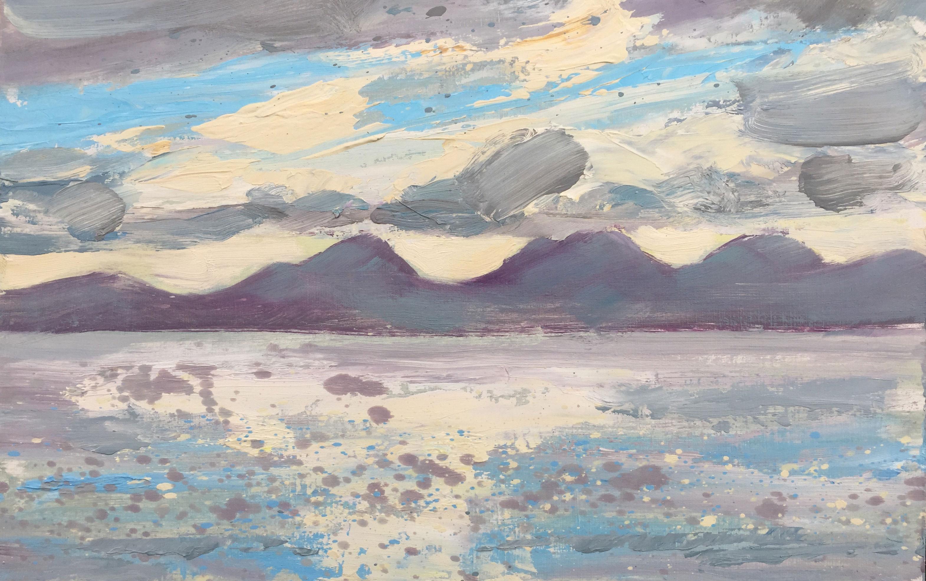 Robert Innes Jura, Evening Light