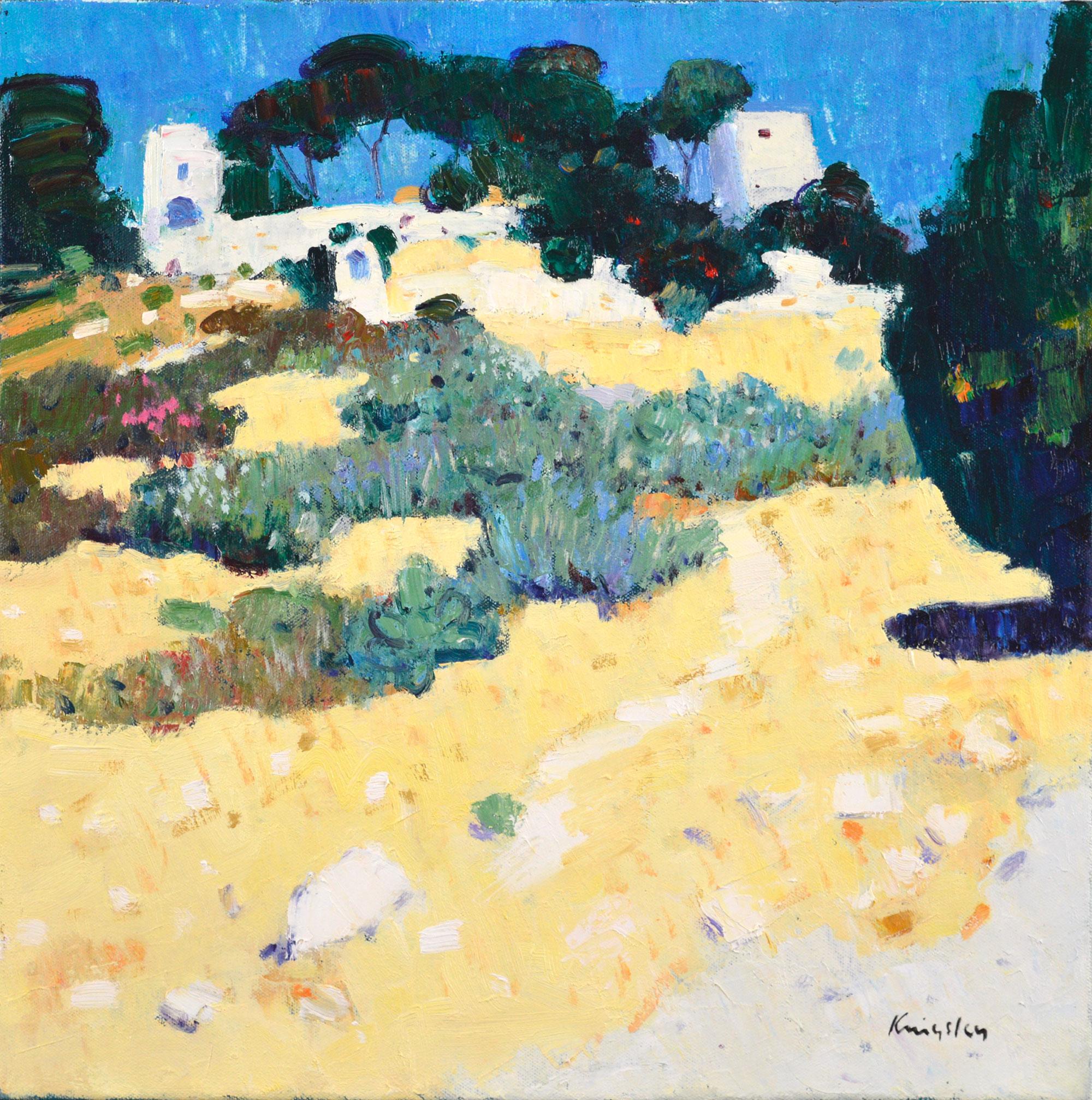 John  Kingsley Landscape at Daudet's Mill