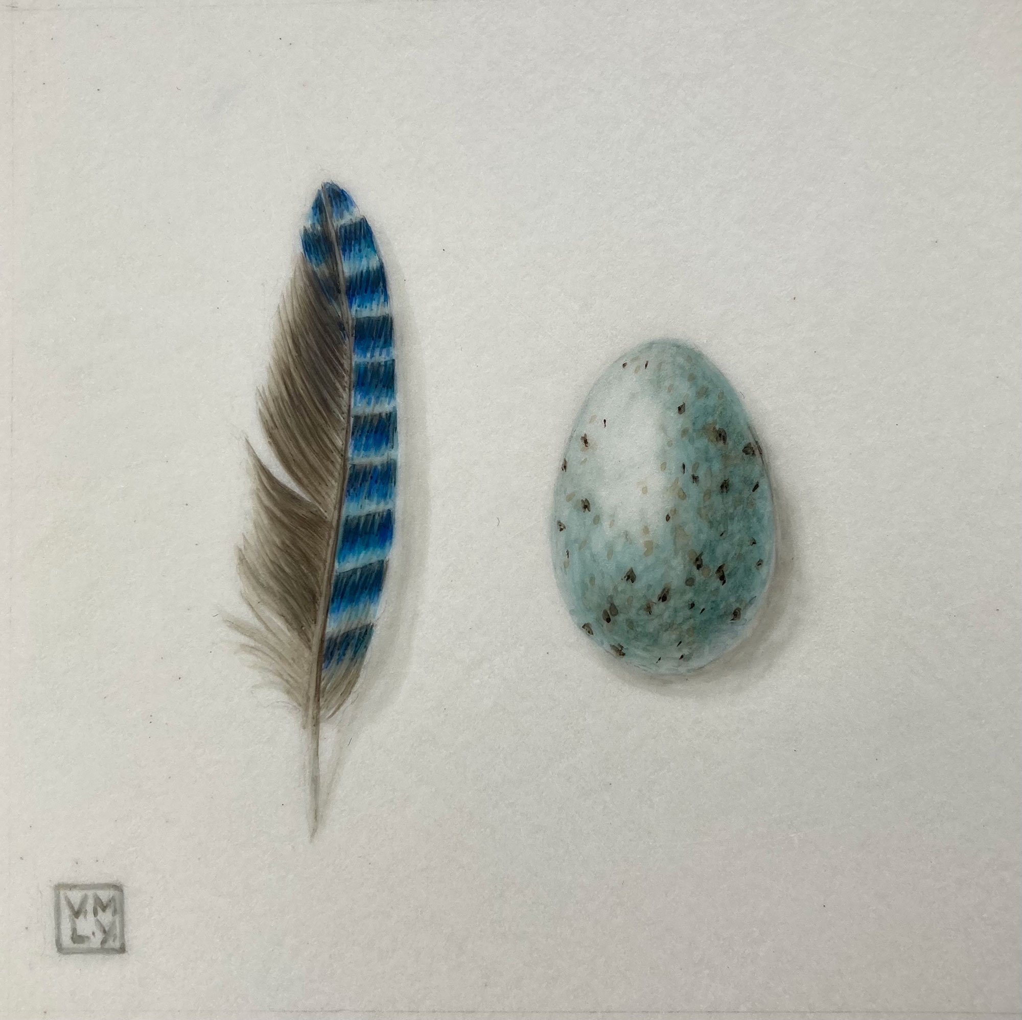 Louise Young Little Blue II