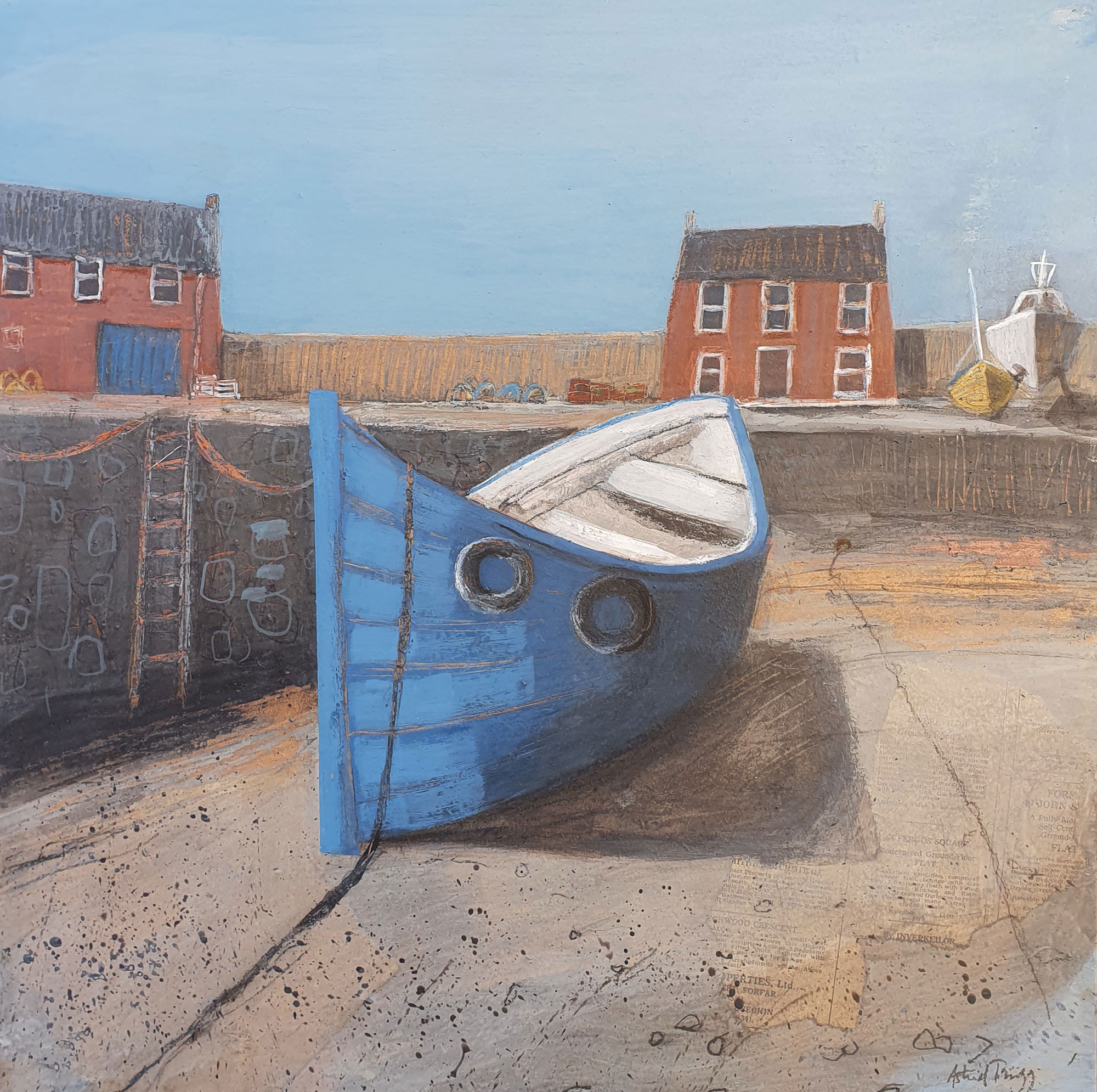 Astrid Trugg Old Blue Boat