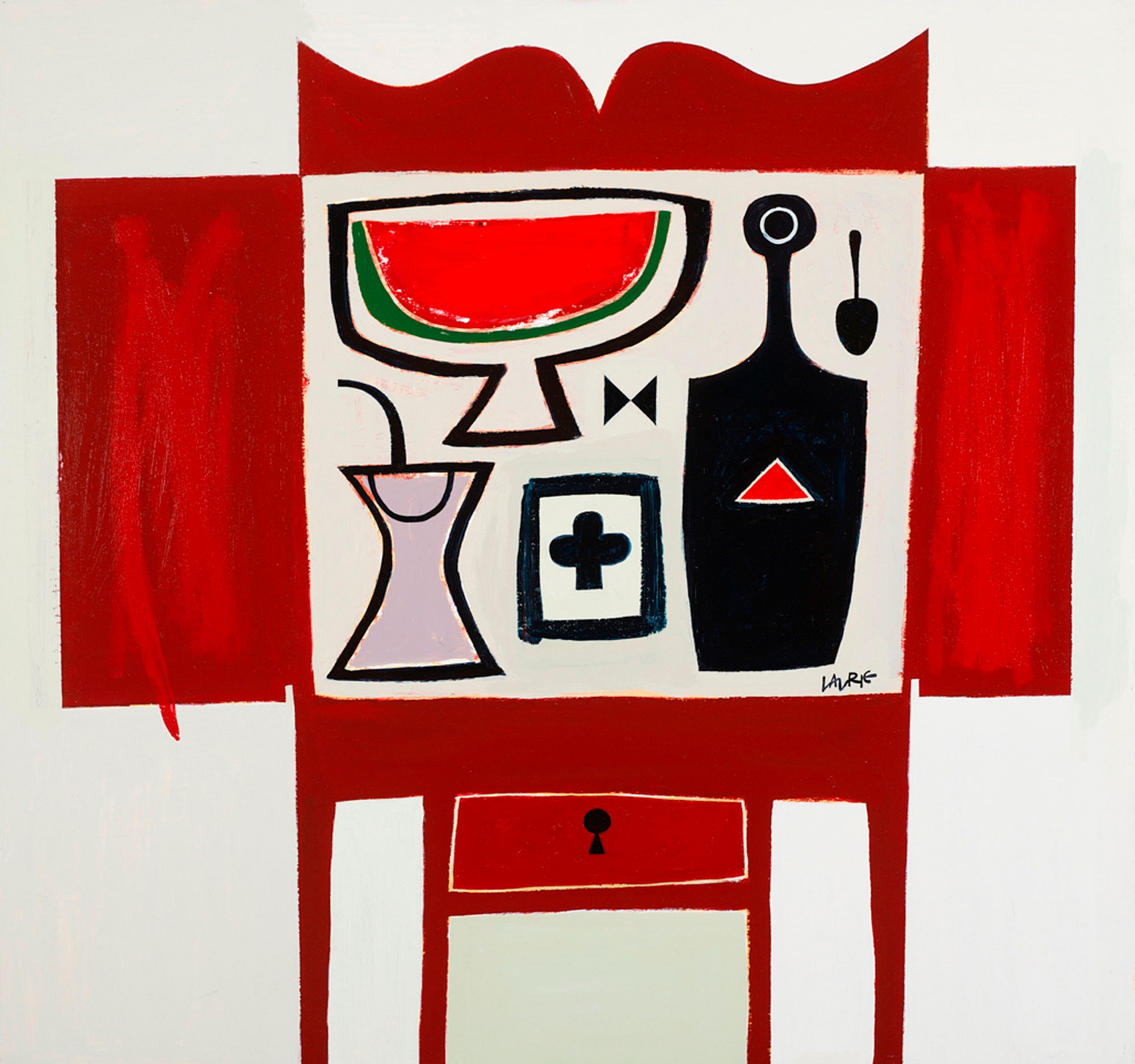 Simon Laurie Red Table