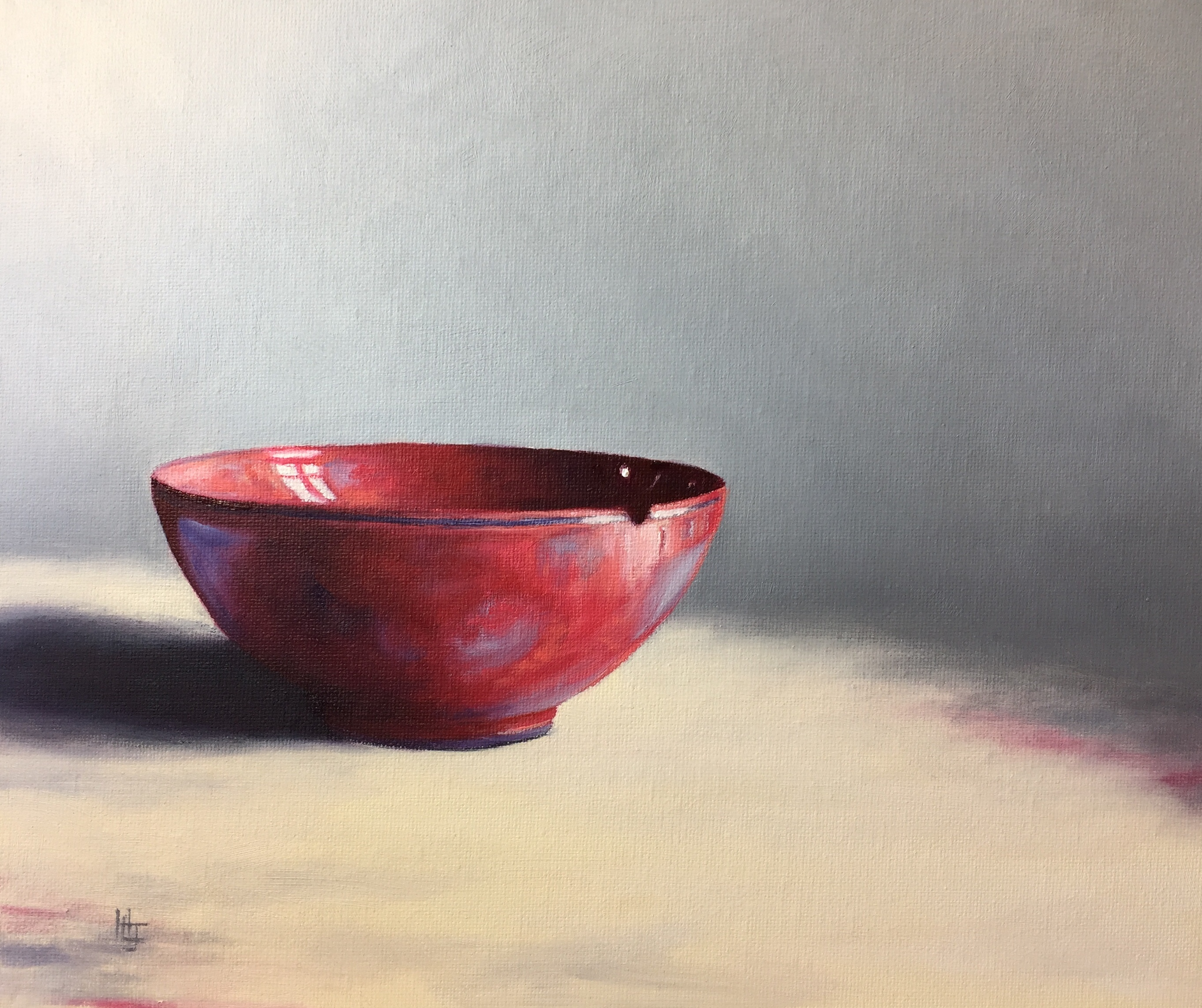 Henrietta Lawson Johnston Red Bowl