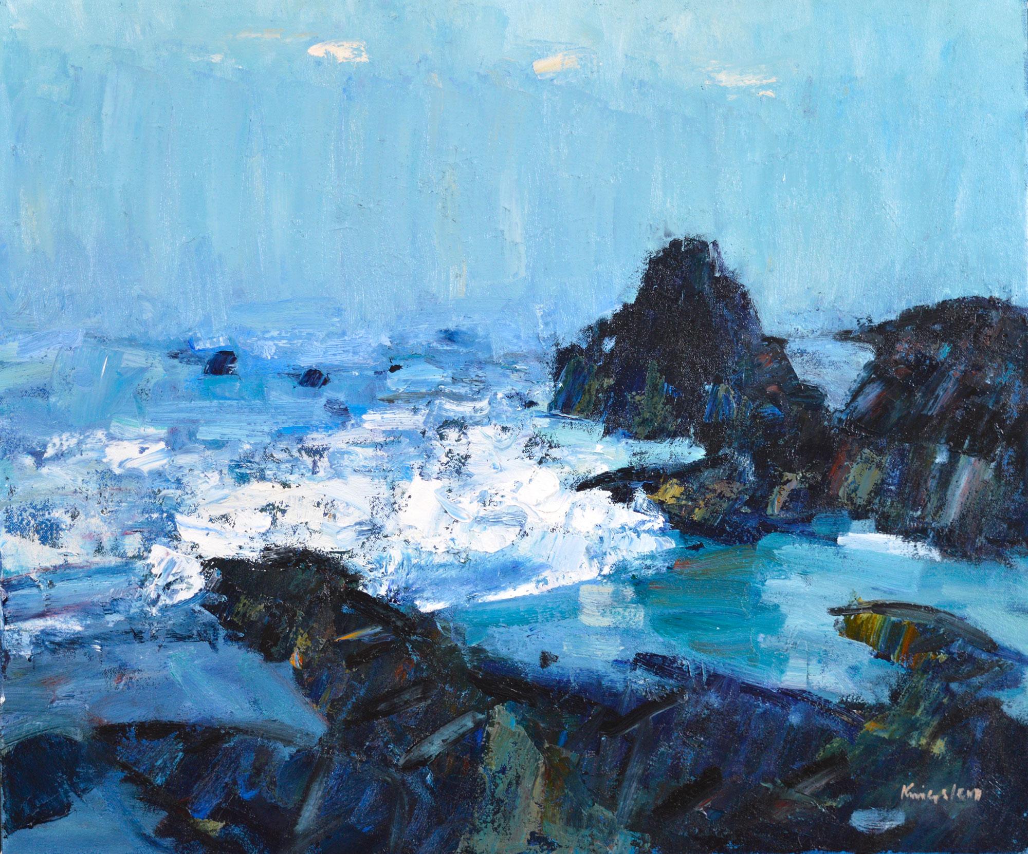 John  Kingsley Rocky Coastline, Turnberry