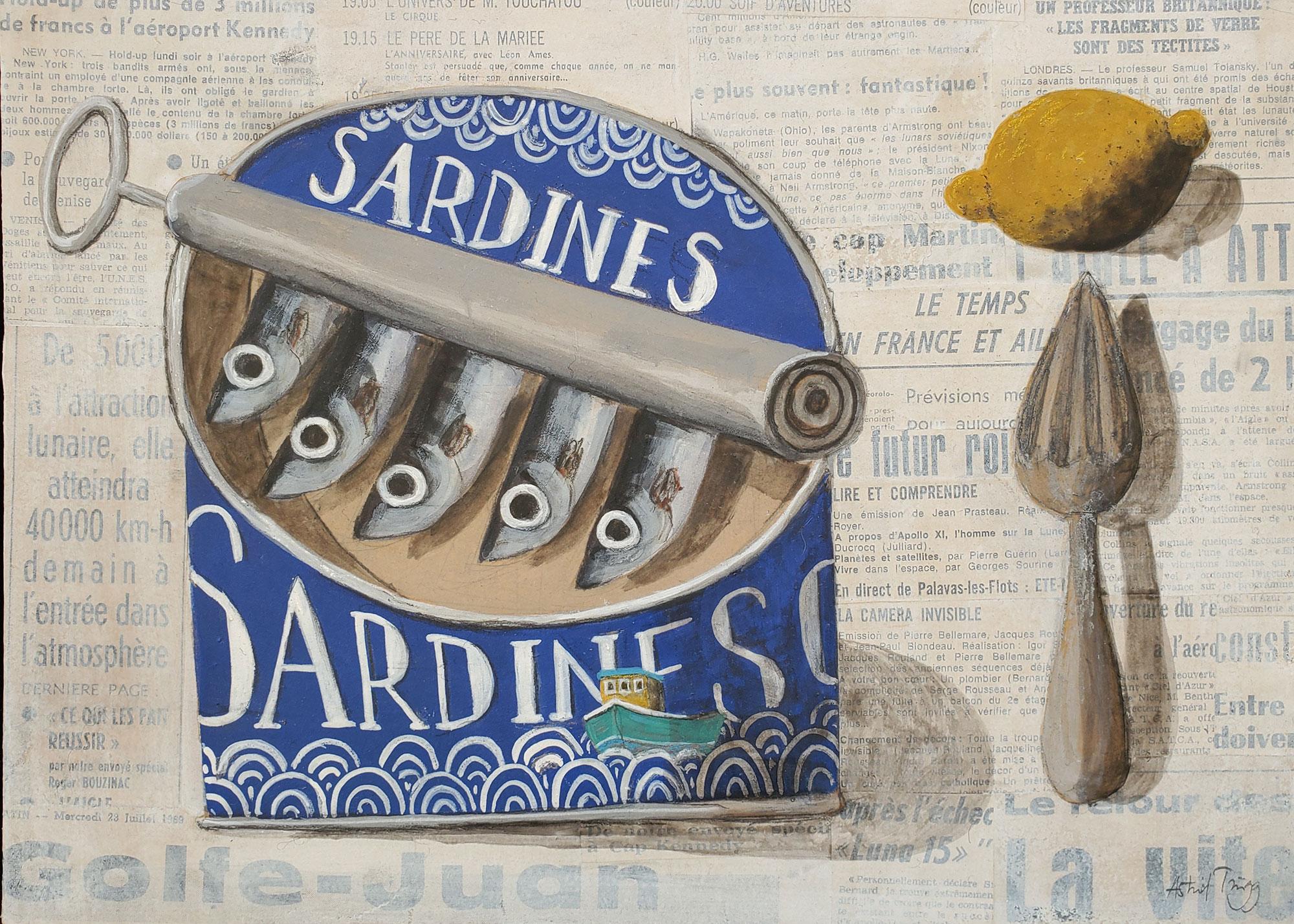 Astrid Trugg Sardines