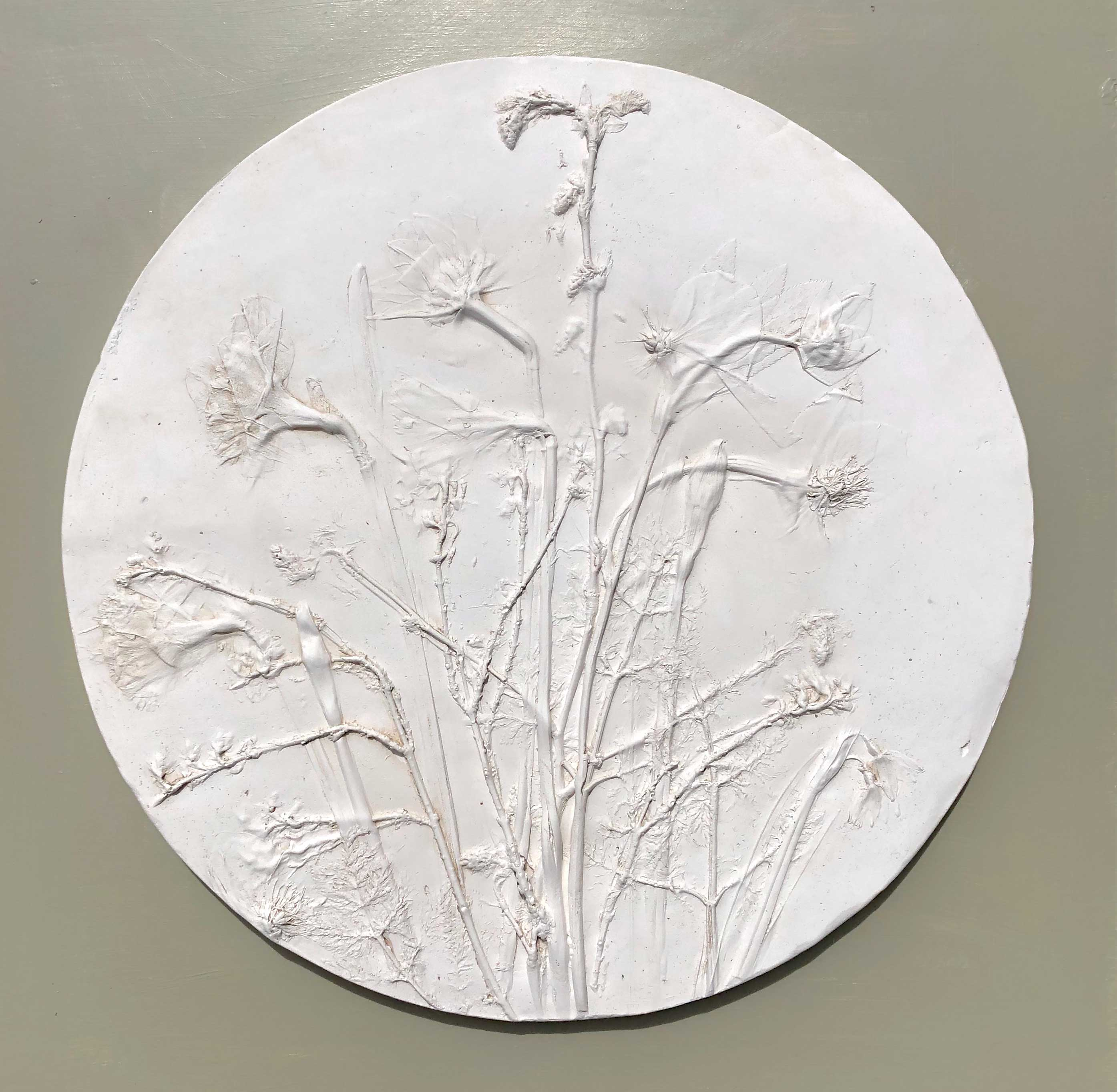 Katy Eccles Spring Blossoms Roundel