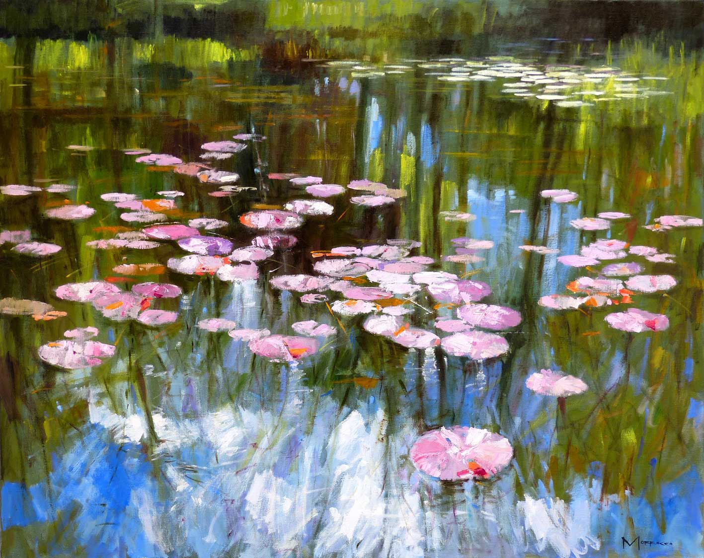 Jack Morrocco DA Lily Pond, Spring Morning