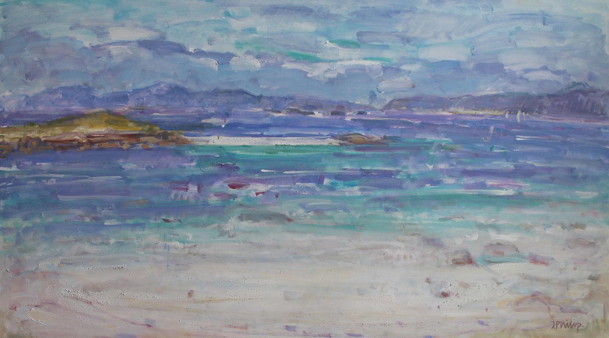 Jackie Philip The Monk's Strand, Iona