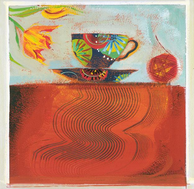 Ann Ross  Tulips & Tea