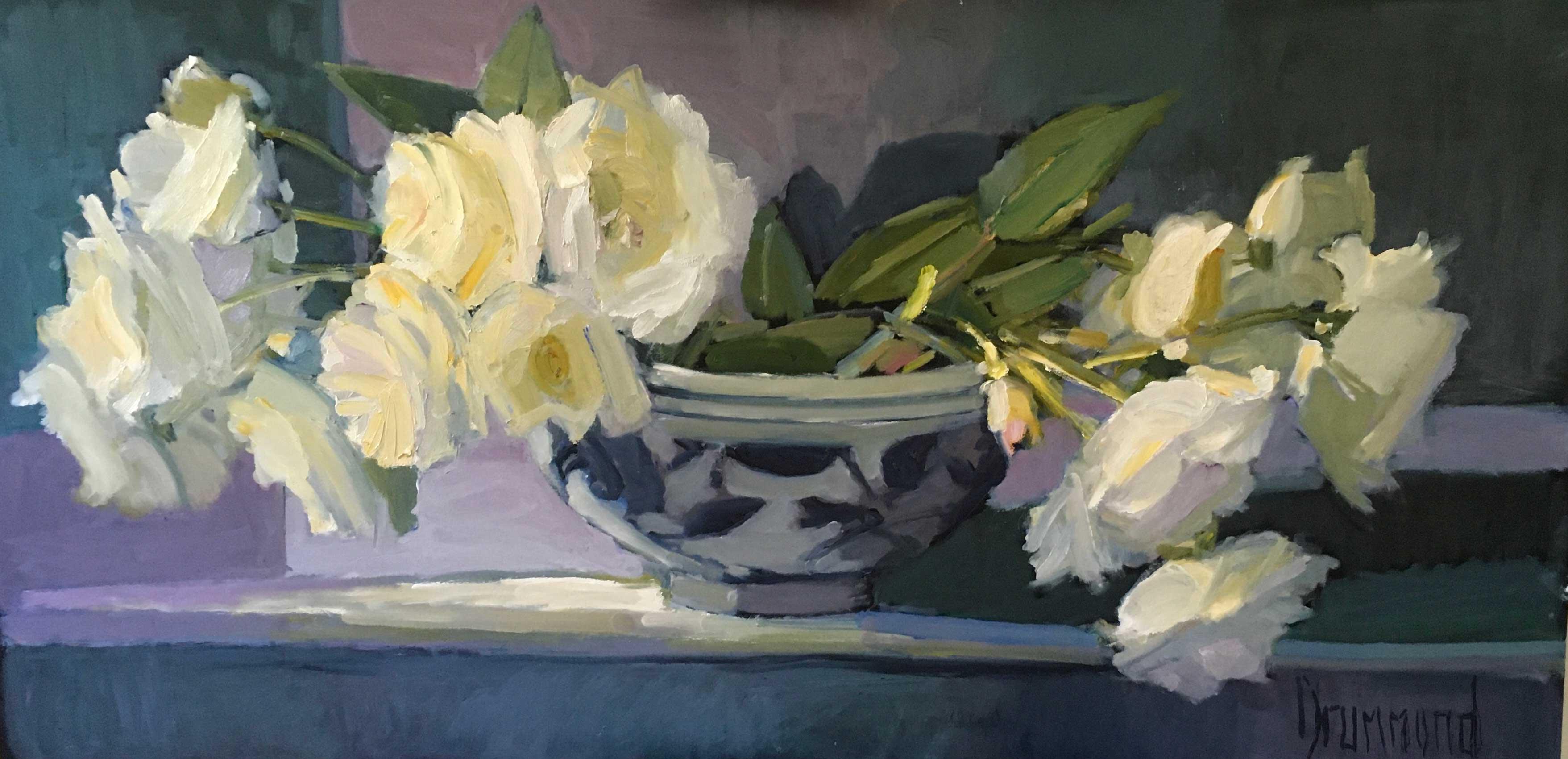 Marion Drummond PAI White Roses