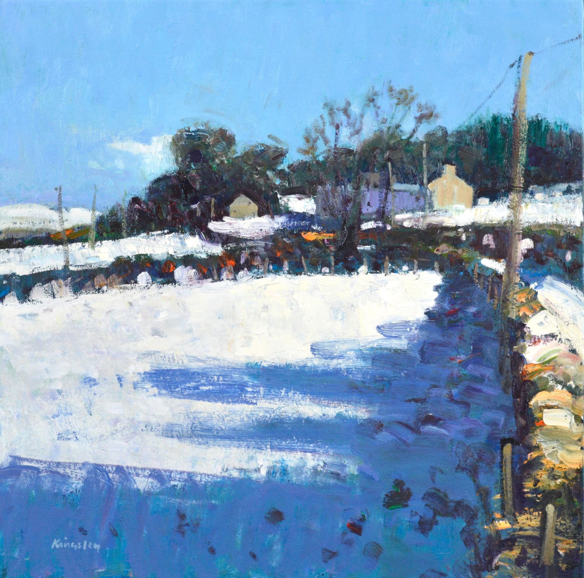 John  Kingsley Winter Landscape, Uplawmoor