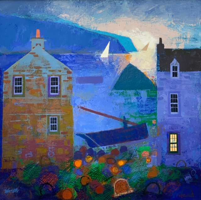 George Birrell Yachts in the Gloaming